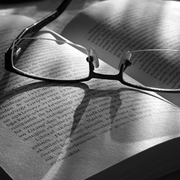 glasses book